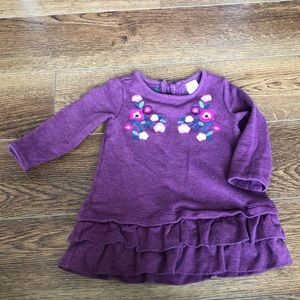 👧12-18 month Gymboree Embroidered Sweater Dress